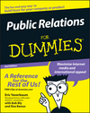 Public Relations For Dummies, 2nd Edition (111805279X) cover image