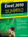 Excel 2010 eLearning Kit For Dummies (111811079X) cover image