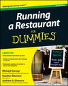 Running a Restaurant For Dummies, 2nd Edition (111815259X) cover image