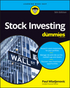 Stock Investing For Dummies, 5th Edition (111923929X) cover image