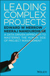 Leading Complex Projects: A Data-Driven Approach to Mastering the Human Side of Project Management (111938219X) cover image