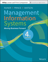 Management Information Systems, Loose-Leaf Print Companion, 4th Edition (111944439X) cover image
