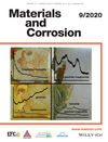 Materials and Corrosion (2010) cover image