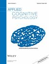 Applied Cognitive Psychology (ACP) cover image
