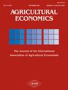 Agricultural Economics (AGEC) cover image
