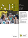 Australian Journal of Rural Health (AJR) cover image