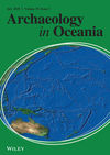 Archaeology in Oceania (ARCO) cover image