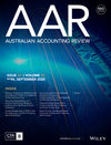 Australian Accounting Review (AUAR) cover image