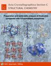 Acta Crystallographica Section C (AYC2) cover image