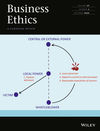 Business Ethics: A European Review (BEER) cover image