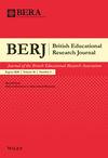 British Educational Research Journal (BERJ) cover image