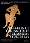 Bulletin of the Institute of Classical Studies (BICS) cover image