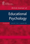British Journal of Educational Psychology (BJEP) cover image