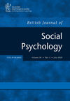 British Journal of Social Psychology (BJSO) cover image