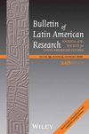 Bulletin of Latin American Research (BLAR) cover image
