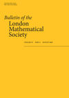 Bulletin of the London Mathematical Society