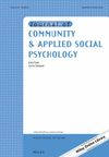 Journal of Community & Applied Social Psychology
