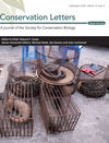 Conservation Letters (CON4) cover image