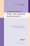Communications on Pure and Applied Mathematics (CPA) cover image