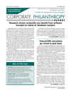 Corporate Philanthropy Report (CPRT) cover image