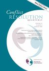 Conflict Resolution Quarterly (CRQ) cover image