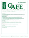 Culture, Agriculture, Food and Environment (CUAG) cover image