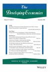 The Developing Economies (DEVE) cover image