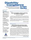 Disability Compliance for Higher Education (DHE) cover image