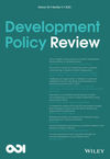 Development Policy Review (DPR) cover image