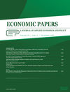 Economic Papers: A journal of applied economics and policy (ECPA) cover image