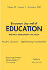 European Journal of Education