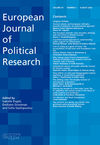 European Journal of Political Research (EJPR) cover image