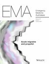Emergency Medicine Australasia (EMM) cover image