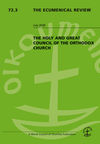 The Ecumenical Review (EREV) cover image