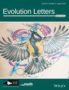 Evolution Letters (EVL3) cover image