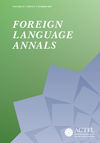 Foreign Language Annals (FLAN) cover image