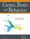 Genes, Brain and Behavior (GBB2) cover image