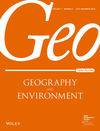 online geography research papers and environmental policy