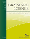 Grassland Science (GRS) cover image