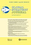 Global Strategy Journal (GSJ) cover image