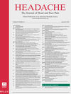 Headache: The Journal of Head and Face Pain (HEAD) cover image