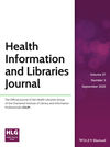 Health Information & Libraries Journal (HIR) cover image