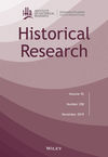 Historical Research (HISR) cover image