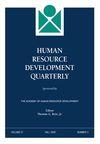 Human Resource Development Quarterly (HRDQ) cover image