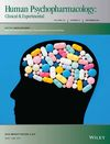 Human Psychopharmacology: Clinical and Experimental