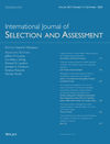 International Journal of Selection and Assessment (IJSA) cover image