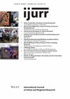 International Journal of Urban and Regional Research (IJUR) cover image