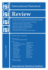 International Statistical Review (INSR) cover image