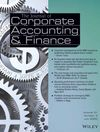 Journal of Corporate Accounting & Finance (JCAF) cover image