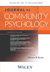 Journal of Community Psychology